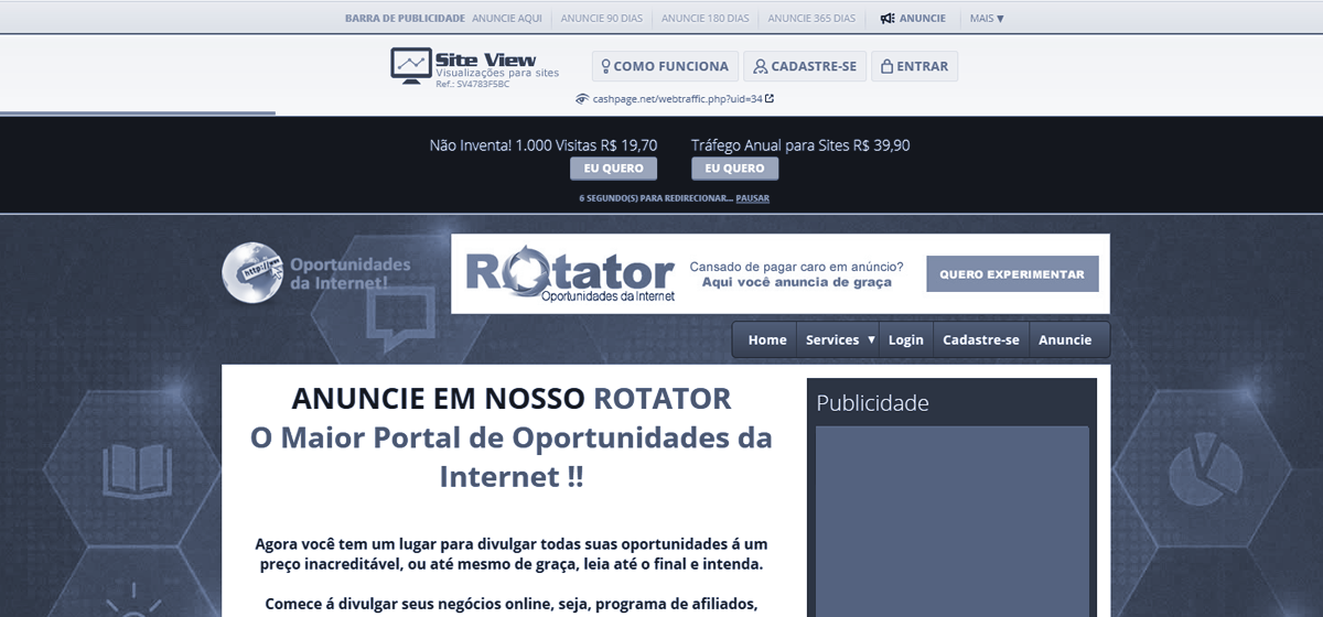 [Como é por dentro o Sistema Site View Visualizações para Sites]